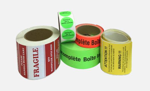 Identified Adhesive Tape